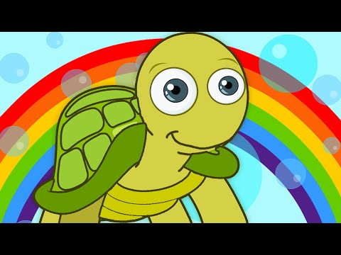 I Had a Little Turtle | Preschool Nursery Rhymes for Children by HooplaKidz
