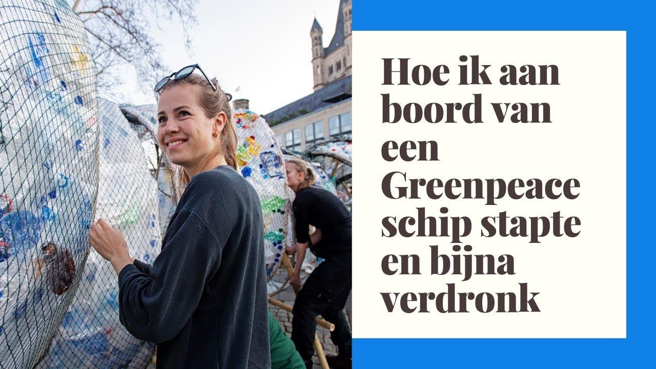 Hoe ik aan boord van een Greenpeaceschip stapte en bijna verdronk | VLOG/MINIDOCU | Cecilia Adorée