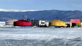 Байкал, рибалка і звичайно ж сноукайтинг!