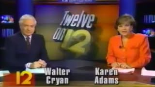 WPRI Eyewitness News Twelve on 12 at 11 00pm from 1995
