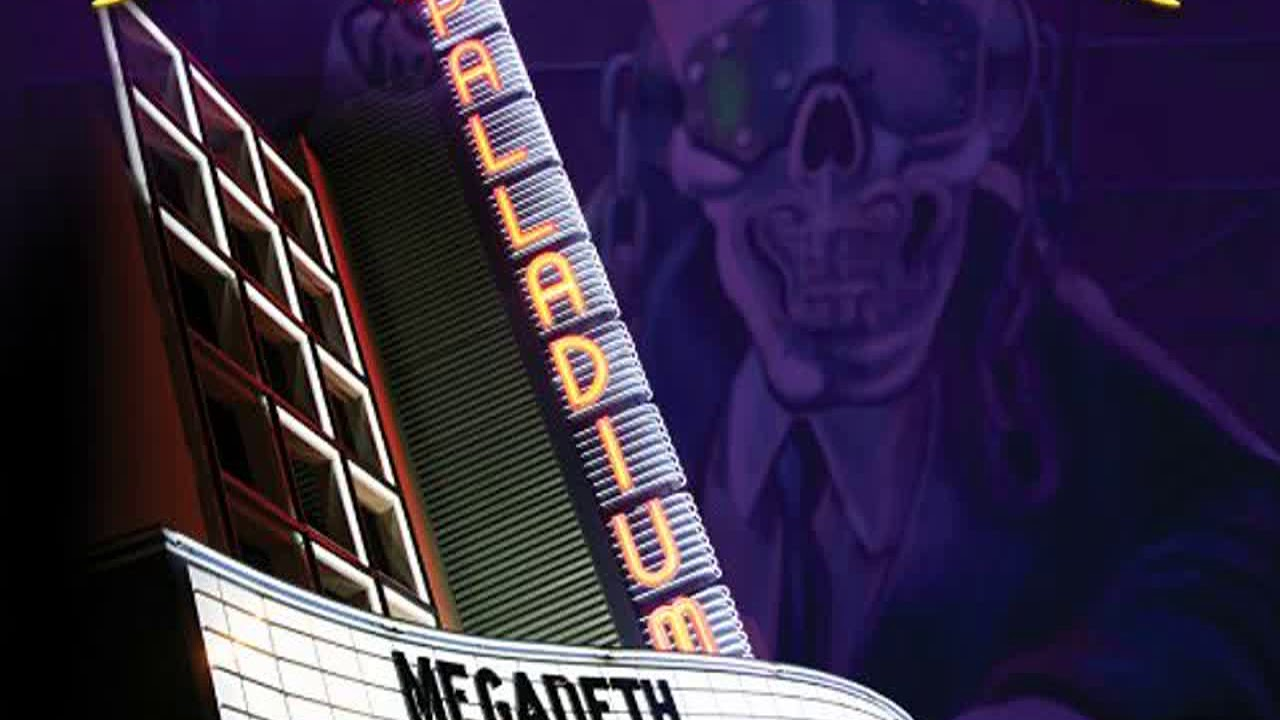 Megadeth Rust In Peace Live
