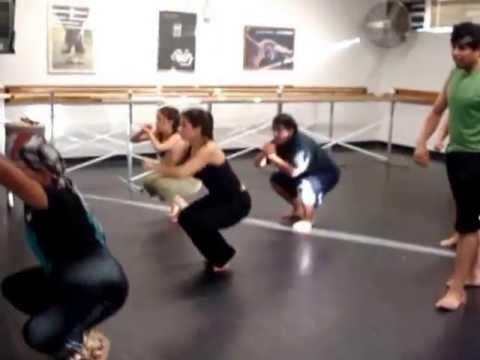 AZTEC Dance Rehearsal