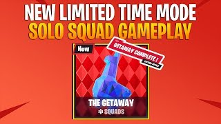 "NEW LTM ""The Getaway"" Quick Victory Solo Squads (No commentary) 
