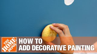 How To Add Decorative Painting to Any Room | The Home Depot