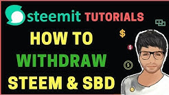 How to Withdraw STEEM and SBD - Hindi