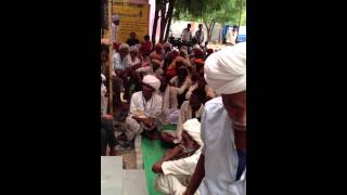 Ramlal Jat- MLA Bhilwara - addressing people of GOVERDHAN PURA - 1