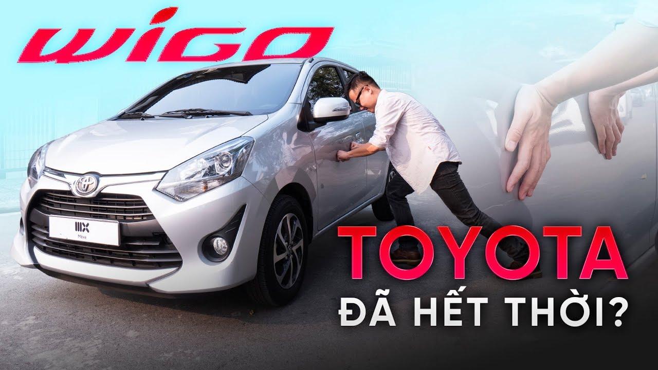 Chi tiết mẫu xe Toyota Wigo