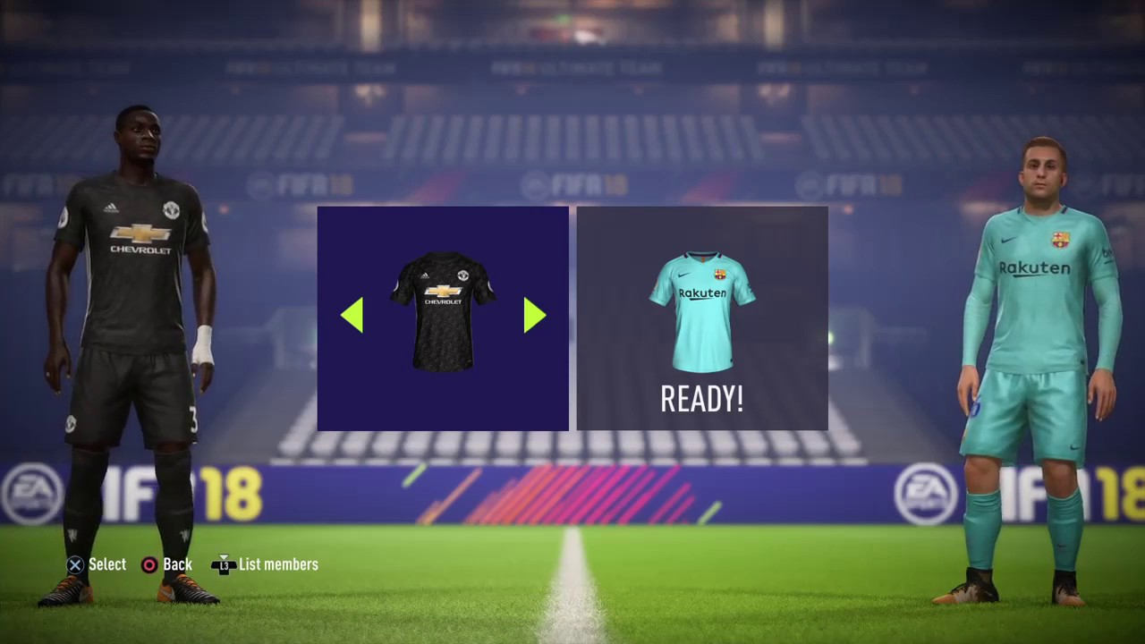 Fifa 18 online friendly match youtube for Esterno fifa 18