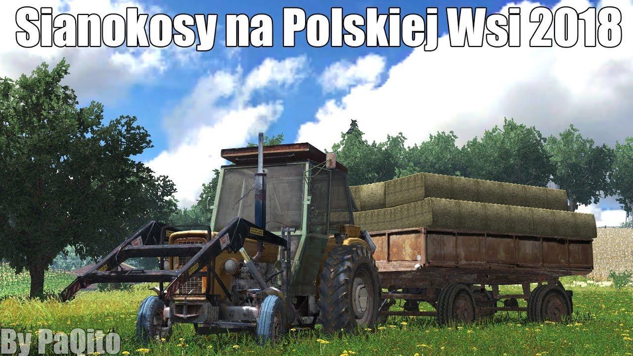 Farming Simulator 13 - Sianokosy Na Polskiej Wsi 2018!