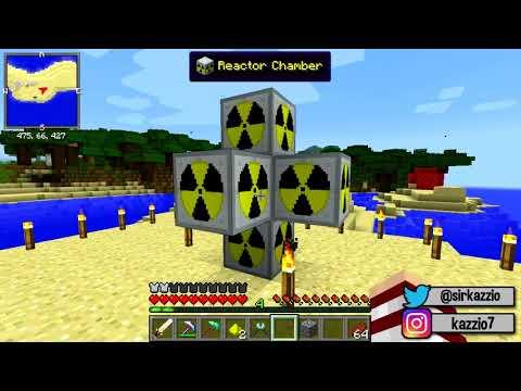 Minecraft ADR #44 - O NUCLEAR REACTOR PARA A NOSSA NUKE !