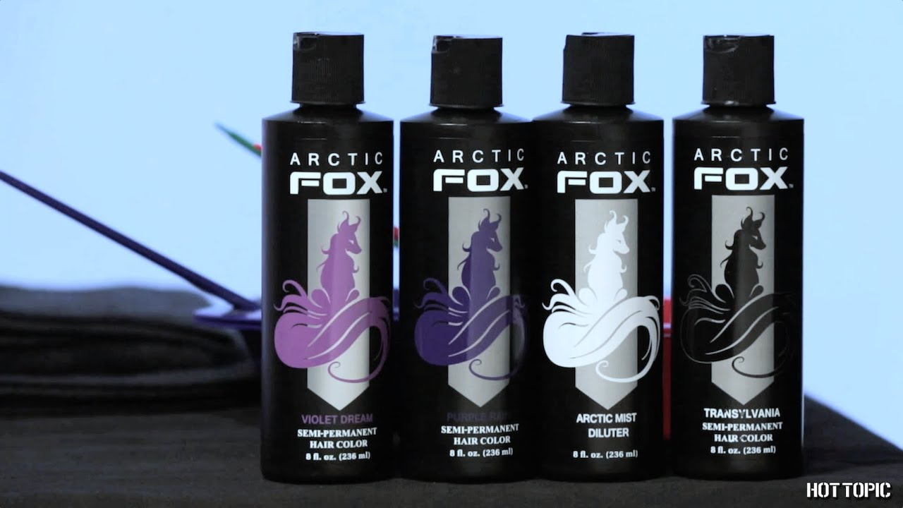 How To Arctic Fox Purple Hair Dye Tutorial YouTube