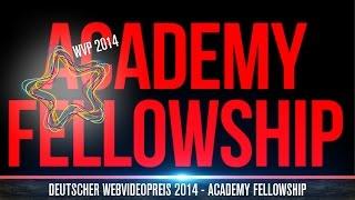 Förderprogramm für YouTuber - Deutscher Webvideopreis 2014