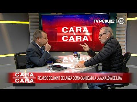 Ricardo Belmont se lanza como candidato a la alcaldía de Lima