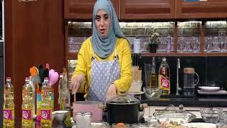 أكلة بيتي -  سمك فلية مقلي مقرمش   شوربة سي فود   طاجن لسان عصفور بالجمبري في حلقة 23 مارس 2019