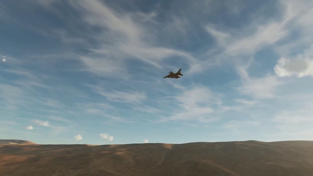 F16s on the deck : DCS World