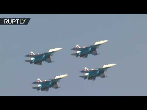 Aerobatic stunts from all over the world: Best moments of Dubai air show