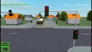 [4x] Roblox OMSI Grundorf Route 76 Front View Timelapse