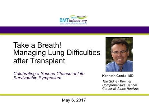 Take a Breath   Managing Breathing Problems after Transplant