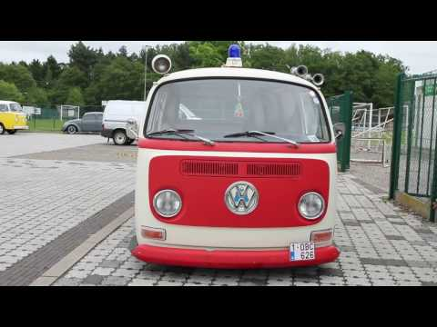 vw  type 2 t2a ambulance
