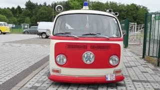 vw  type 2 t2a ambulance