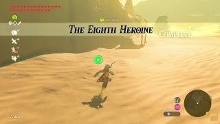 Zelda: Breath of the Wild | The Eighth Heroine Side Quest - Wasteland Tower Region thumbnail