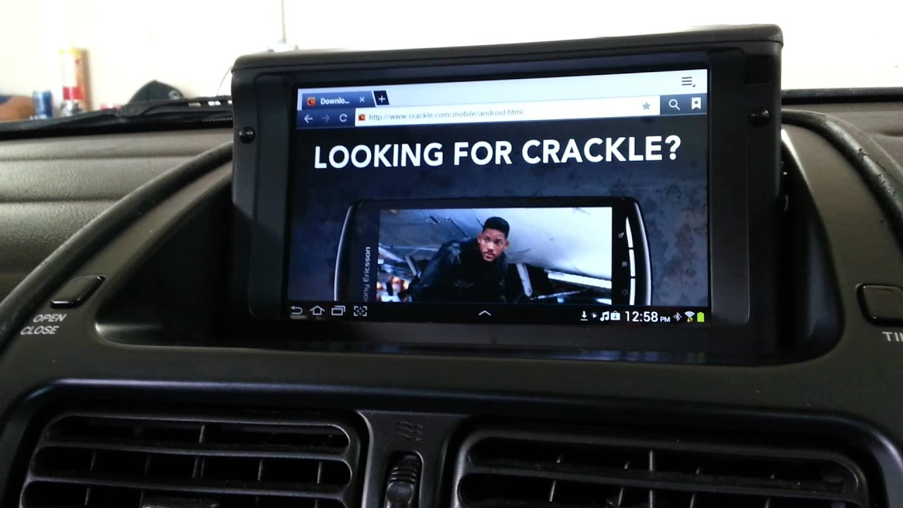 Motorized Galaxy Tablet Incar Install Youtube