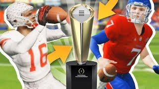 National Championship Game // NCAA 14 Road to Glory #23