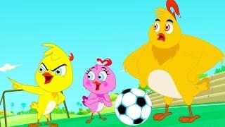 Eena Meena Deeka  Football  Funny Cartoon Compilation  Cartoons for Children