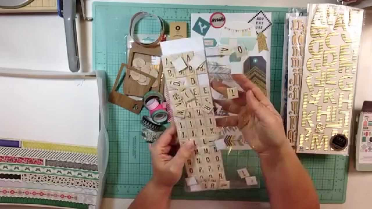 Create your own scrapbook - Create Your Own Scrapbook Kit Crate Paper Journey Inspired Kit