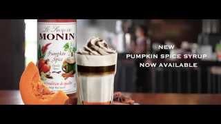 New Monin Pumpkin Spice Syrup