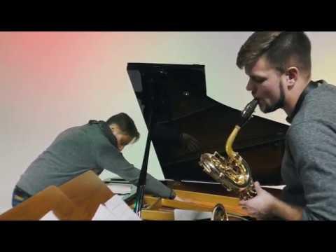 Rehearsal with A-trio at Domforum Köln