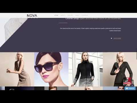 Fashion Responsive Website Template TMT Dowload   Fashion Responsive