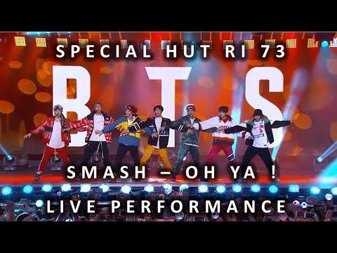 MV SMASH - OH YA ! X BTS - GO GO Cover Special Live Performance