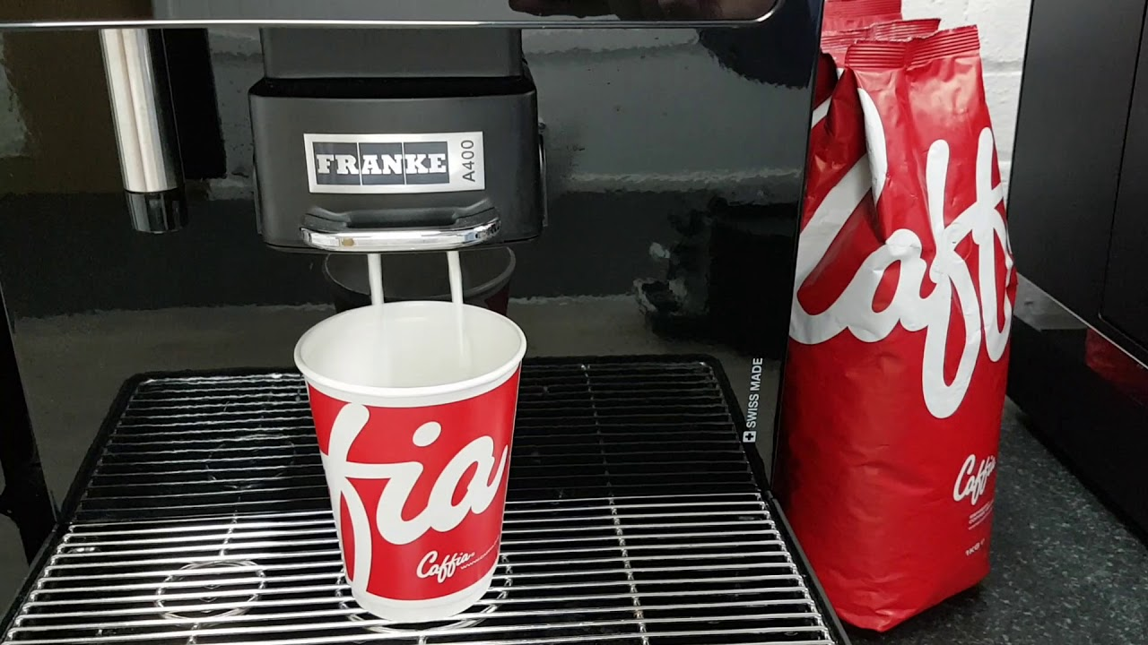 Franke Coffee Systems Franke A400 Coffee Machine Video Demo Caffia Coffee Group