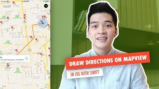 Video Draw Directions on Map | MapView, MapKit in iOS with Swift download MP3, 3GP, MP4, WEBM, AVI, FLV November 2018