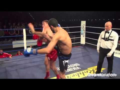 Footage shows Copenhagen gunman Omar Abdel Hamid El Hussein in kickboxing match