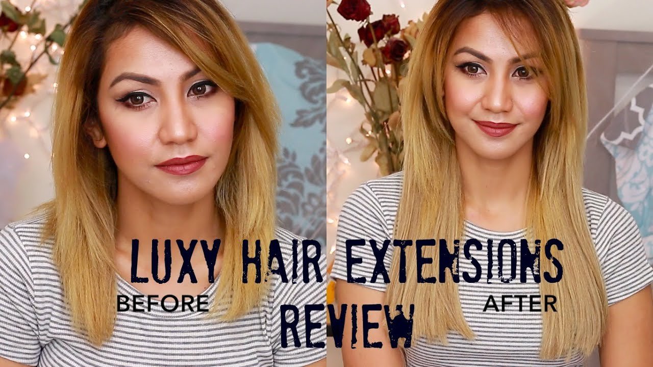 Luxy Hair Extensions Review Yourstrulyazenu Youtube
