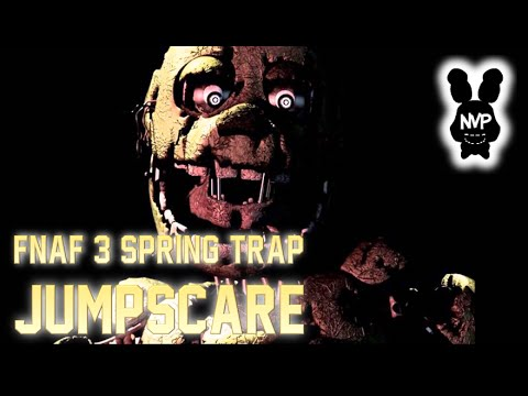 Fnaf 3 spring trap golden bonnie jumpscare youtube