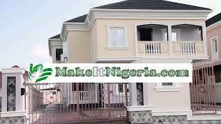 Mansion House For Sale at Mayfair Gardens, Lekki, Lagos, Nigeria | Offered by MakeItNigeria