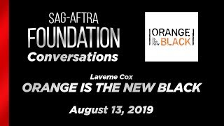 Conversations with Laverne Cox of ORANGE IS THE NEW BLACK