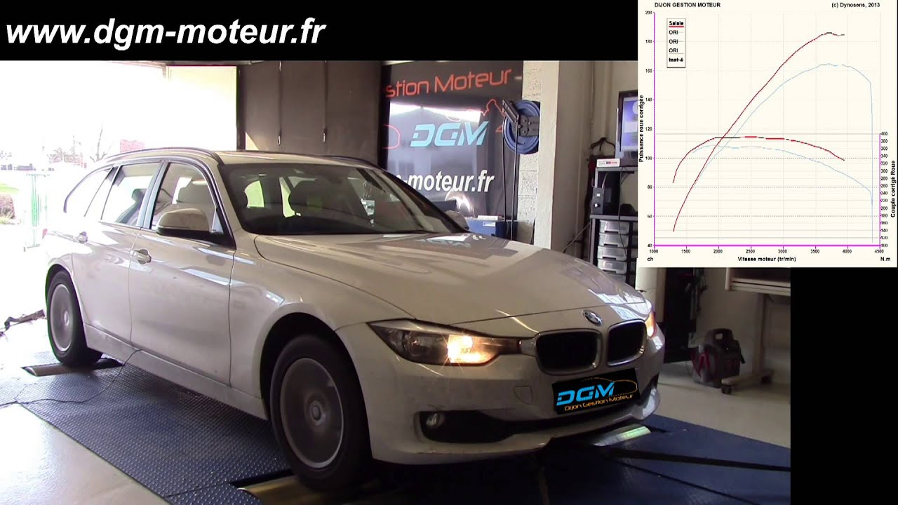 reprogrammation bmw 320d f31 184ch dijon gestion moteur youtube. Black Bedroom Furniture Sets. Home Design Ideas