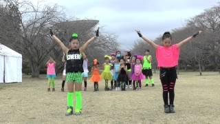 説明2016.4.2 高萩さくらまつり *さくら宇宙公園 *KIDS DANCE R! styl...