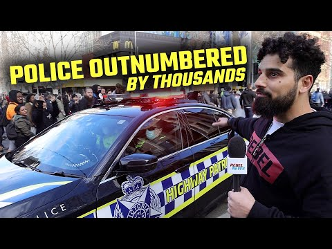 This is what REALLY happened at the Rally For Freedom in Melbourne