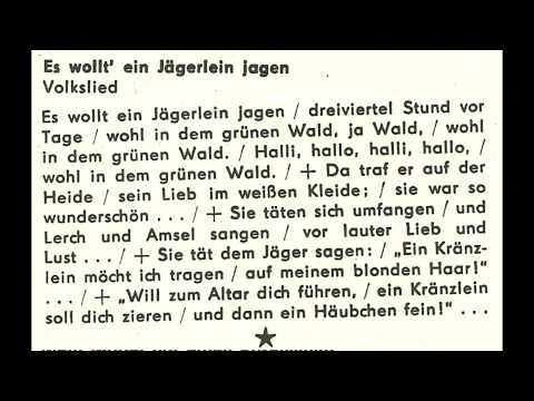 Jugendchor Berlin - Es wollt ein Jägerlein jagen