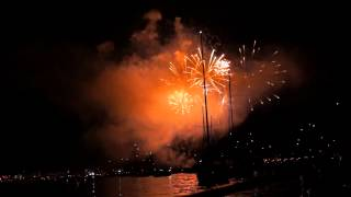 Seenachtfest Konstanz 2013 deutsches Feuerwerk Seesicht [HD]