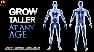 8 Hours- HEIGHT INCREASE Binaural Beats Meditation  | GROW TALLER & FASTER At Any Age (HGH)