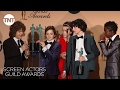 Stranger Things Cast: Press Room Q&A P.2   23rd Annual SAG Awards   TNT