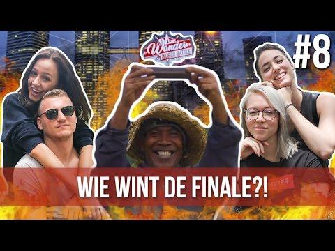 WIE WINT DE FINALE?! | Kaj & Sophie VS. Teske & Saske #8 - Wander World Battle Finale Maleisië