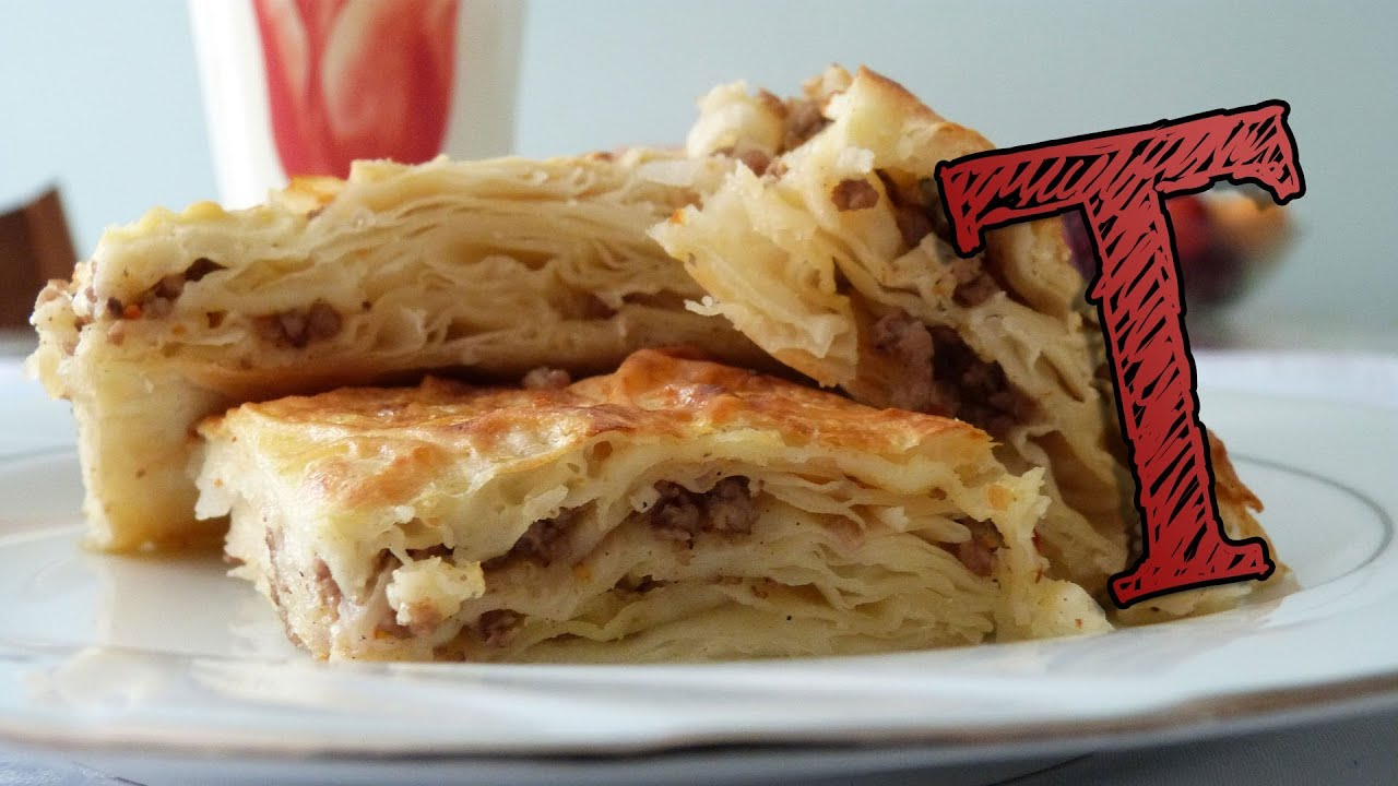 Kurdische Küche Hamburg Borek With Ground Meat Phyllo Pastry Burek With Beef
