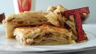 Borek with Ground Meat | Phyllo Pastry Burek with Beef | Borek Recipe